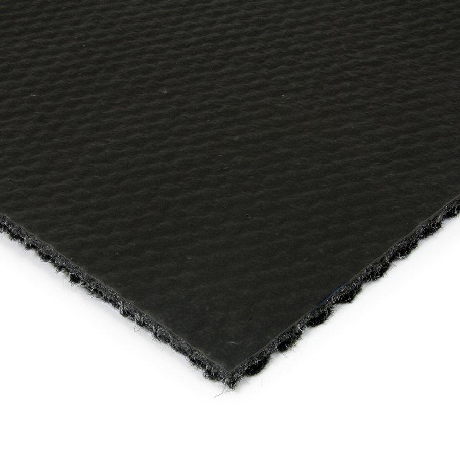 Černá kobercová zátěžová čistící zóna FLOMA Fiona - výška 1,1 cm