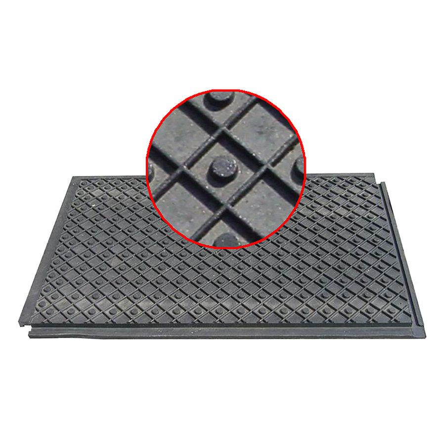 Plastová podlahová deska - délka 120 cm, šířka 80 cm a výška 4,3 cm