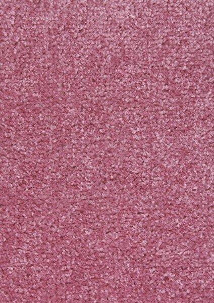 Růžový kusový koberec Nasty