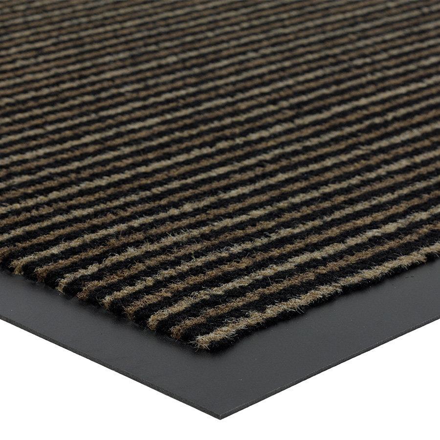 Hnědá čistící vnitřní vstupní rohož Scala, FLOMA - výška 0,5 cm