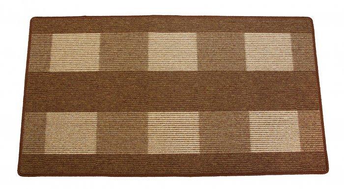 Hnědý kusový koberec Dijon - délka 280 cm a šířka 200 cm