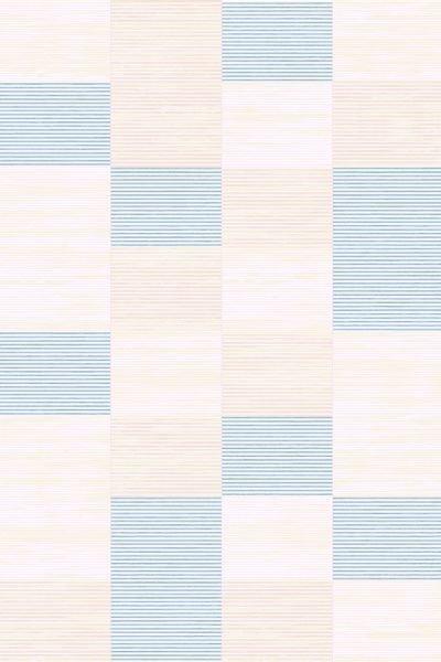 Modrý kusový moderní koberec Vini