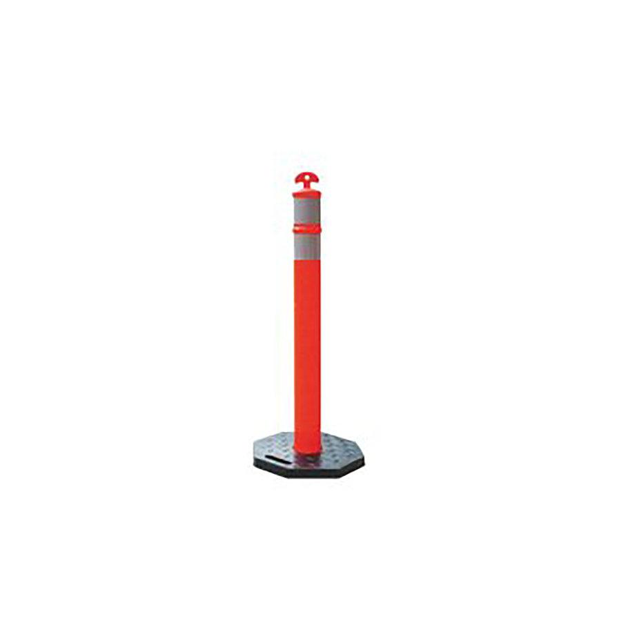 Mobilní ohraničovací reflexní sloupek - průměr 10 cm a výška 115 cm