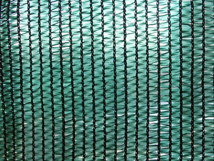 Zelená stínící tkanina na plot Sunizol - délka 100 m a výška 2 m