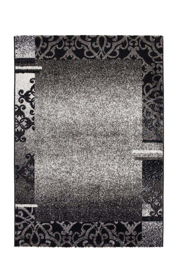 Šedý kusový koberec Copacabana - délka 170 cm a šířka 120 cm
