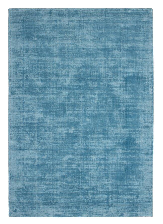 Tyrkysový kusový koberec Maori - délka 150 cm a šířka 80 cm