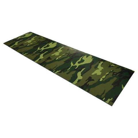 Zelená pěnová karimatka - délka 180 cm, šířka 50 cm a výška 0,8 cm