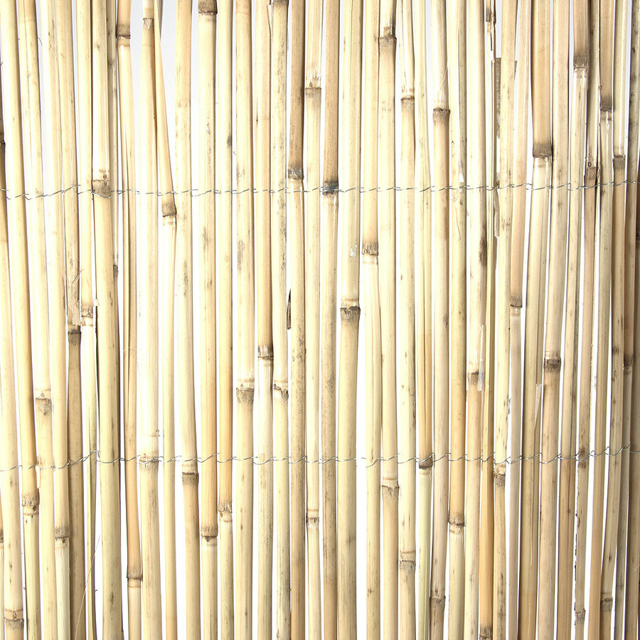 """Rákosová stínící rohož """"štípaný rákos"""" - délka 500 cm a výška 200 cm"""