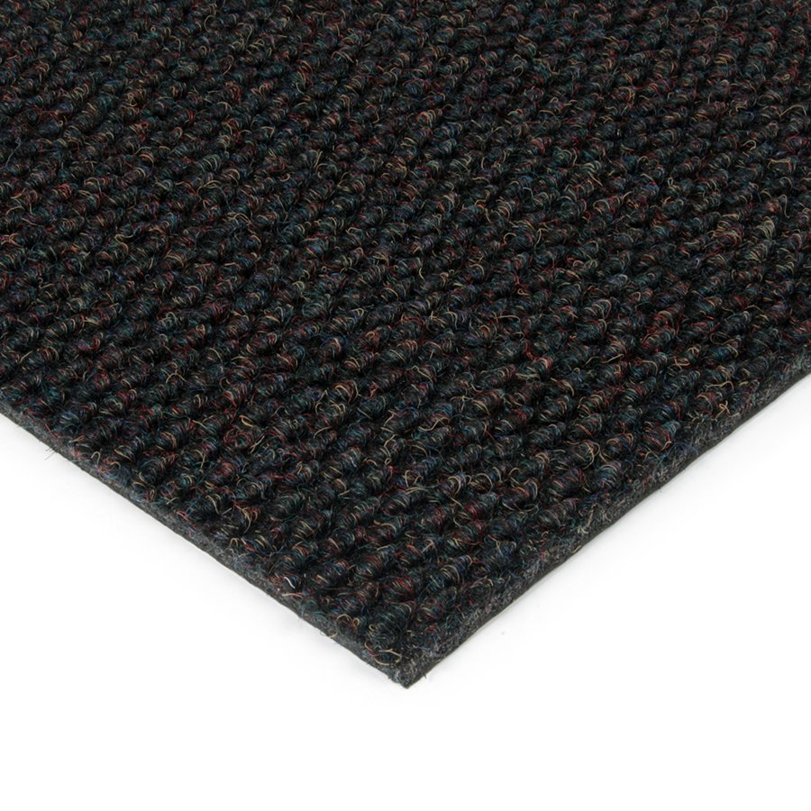 Černá kobercová zátěžová vnitřní čistící zóna Fiona, FLOMAT, 01 - výška 1,1 cm