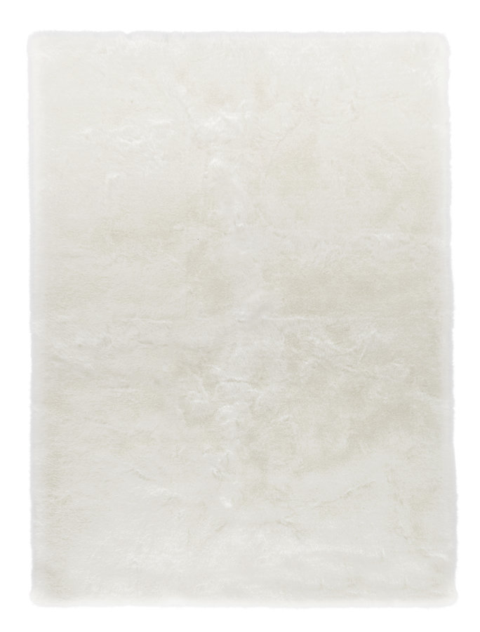 Bílý kusový koberec Superior - délka 90 cm a šířka 60 cm