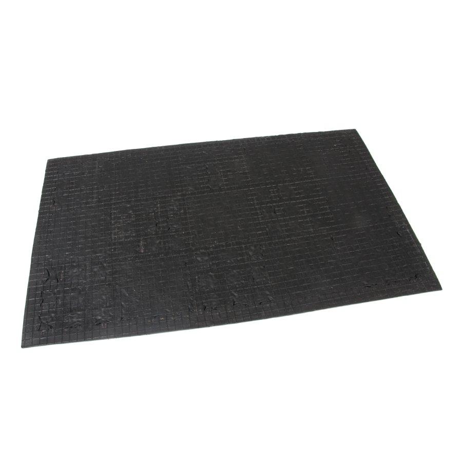 Kokosová čistící venkovní vstupní rohož FLOMA Square Mix - délka 45 cm, šířka 75 cm a výška 1 cm
