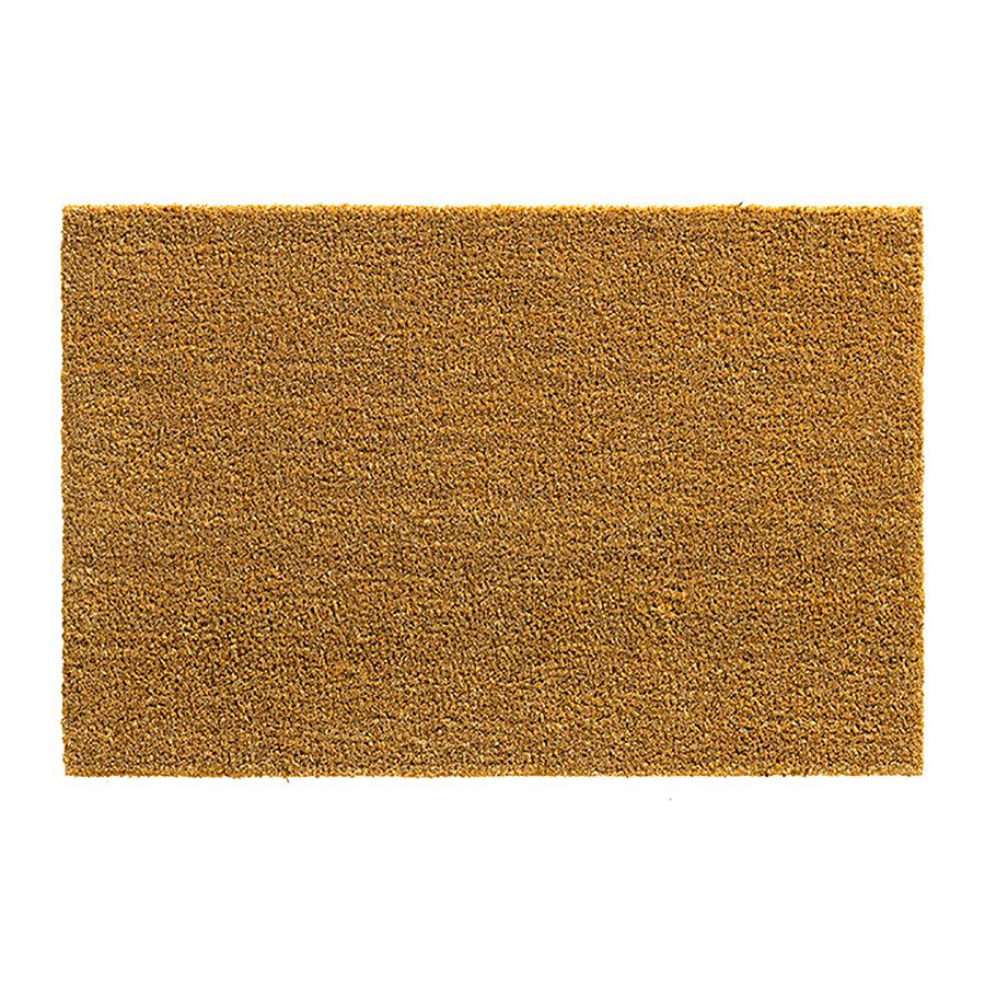 Kokosová vstupní čistící rohož E-coco - délka 40 cm, šířka 60 cm a výška 1,5 cm