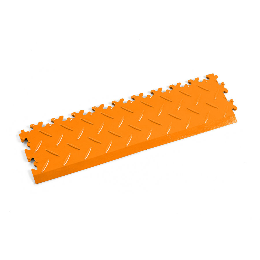 Oranžový vinylový plastový nájezd 2015 (diamant), Fortelock - délka 51 cm, šířka 14 cm a výška 0,7 cm