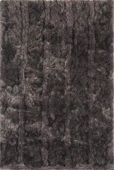 Šedý luxusní kusový koberec Feel - délka 200 cm a šířka 128 cm