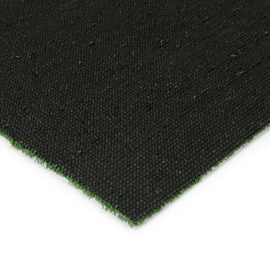 Zelená plastová čistící zóna FLOMA Grace - šířka 100 cm a výška 0,9 cm