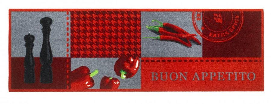 Různobarevná kuchyňská předložka 01 - délka 150 cm a šířka 50 cm