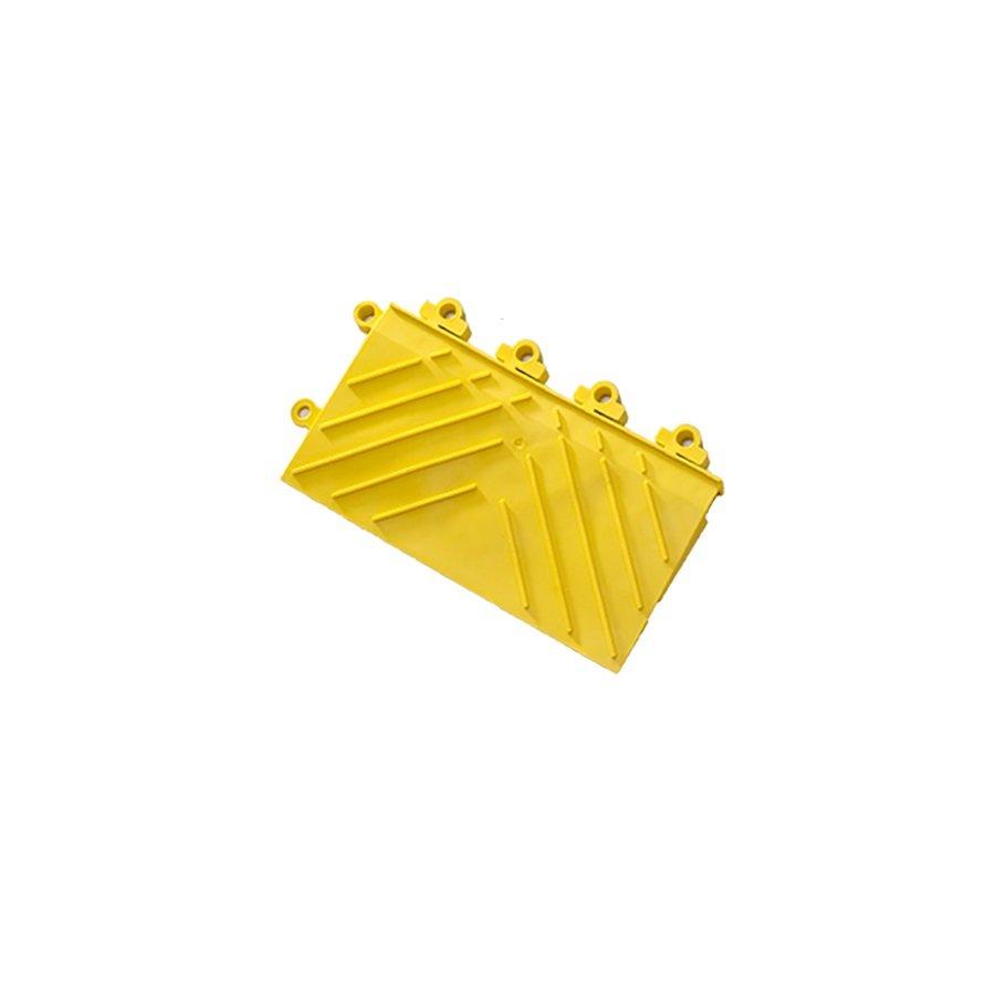 "Žlutá náběhová hrana ""samec"" Diamond FL Safety Ramp - délka 30 cm a šířka 15 cm"