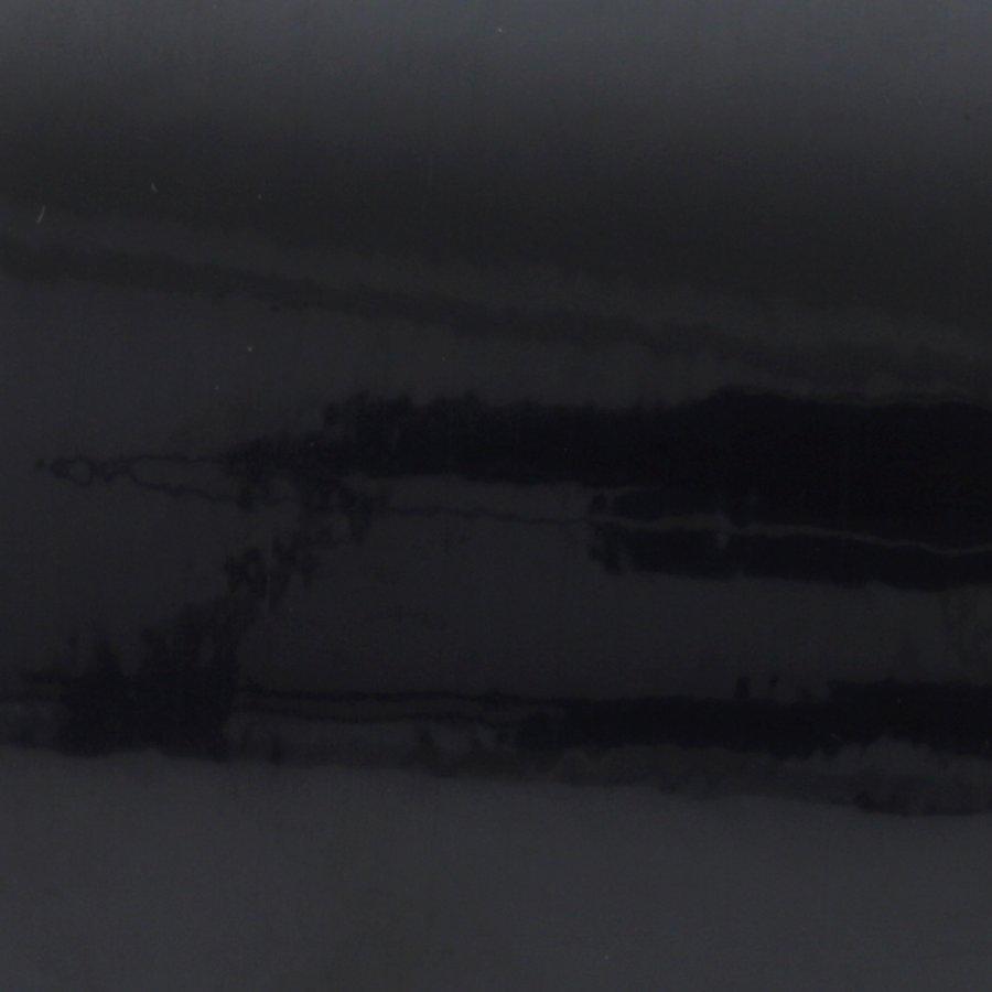 Černá nereflexní samolepící výstražná páska - délka 15 m a šířka 5 cm