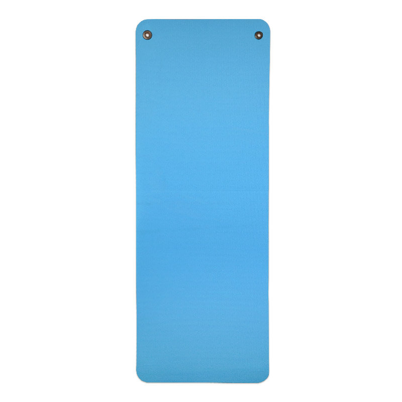 Modrá gymnastická podložka na cvičení MASTER - délka 173 cm, šířka 60 cm a výška 1,5 cm