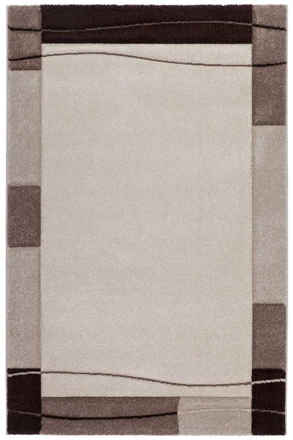 Béžový kusový moderní koberec Acapulco - délka 170 cm a šířka 120 cm