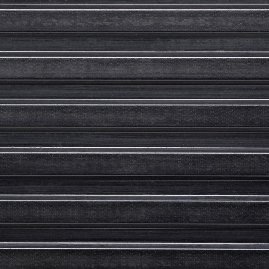 Černá průmyslová protiskluzová podlahová guma FLOMA Gamma - délka 10 m, šířka 100 cm a výška 0,6 cm