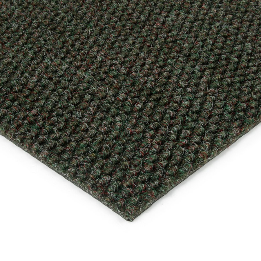 Zelená kobercová zátěžová vnitřní čistící zóna Fiona, FLOMA - výška 1,1 cm