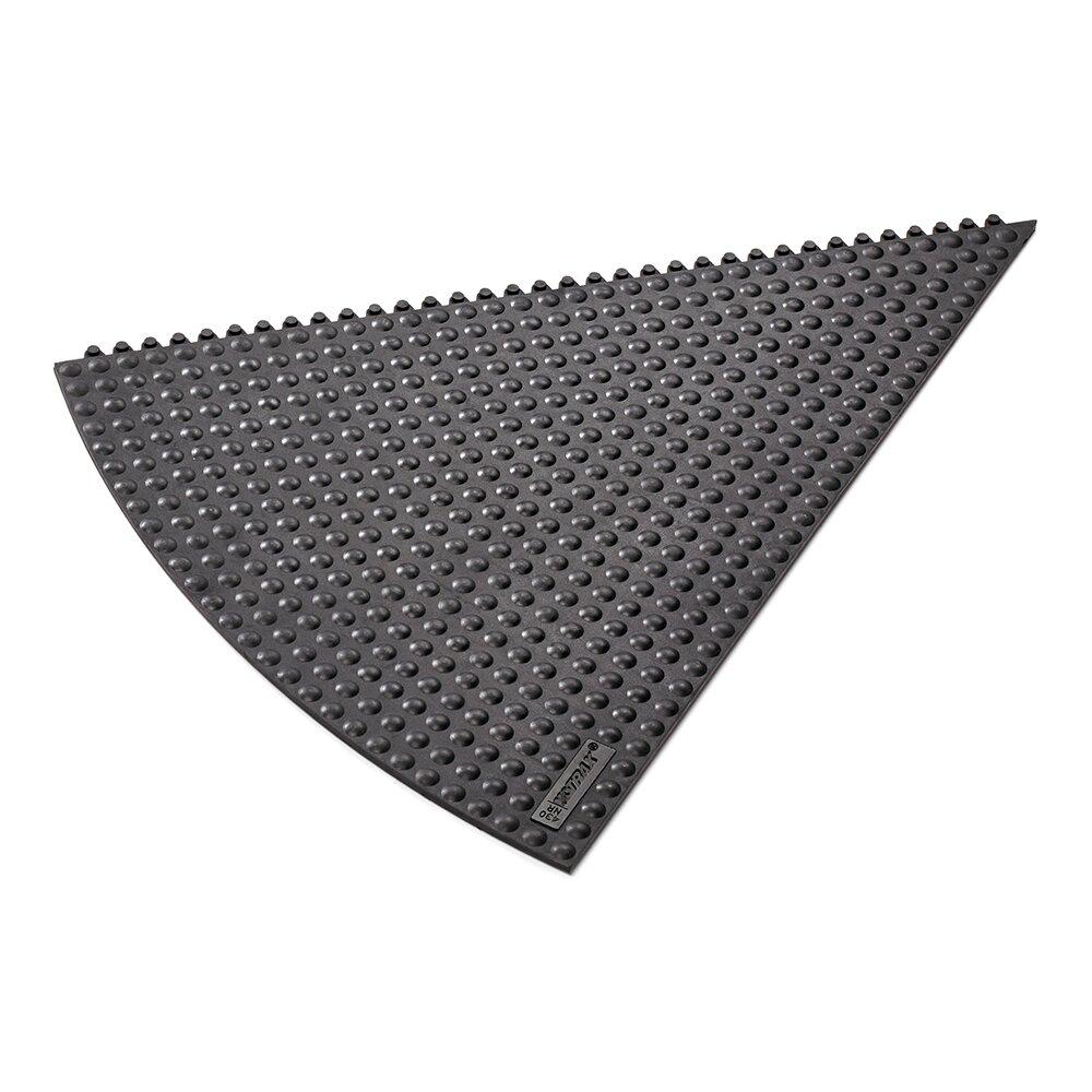 Černá gumová rohož (okraj) Skywalker HD i-Curve ESD Nitrile FR - výška 1,3 cm