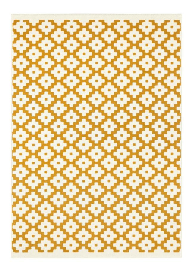 Žlutý kusový koberec Celebration, Lattice
