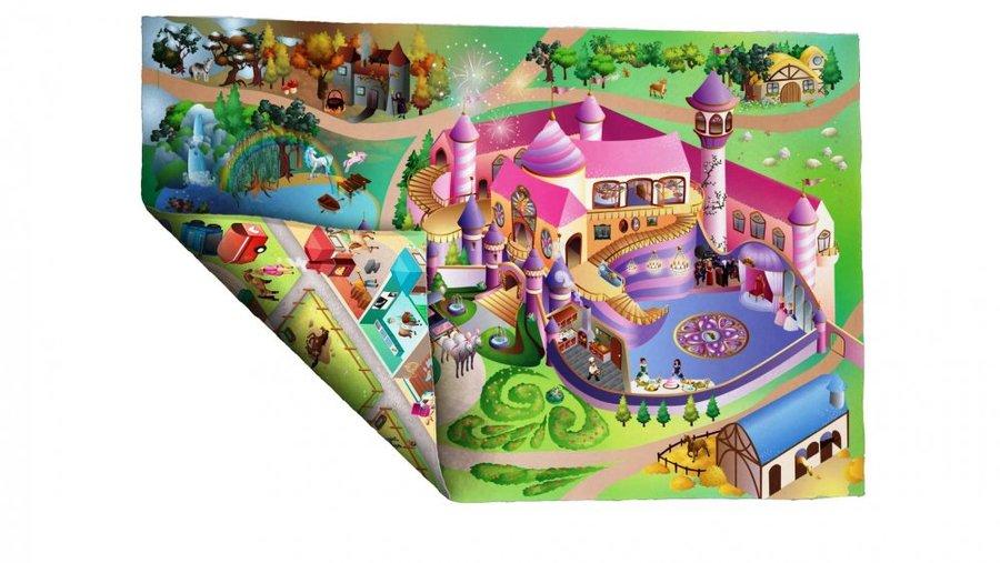 Dětská hrací oboustranná podložka - délka 150 cm a šířka 100 cm