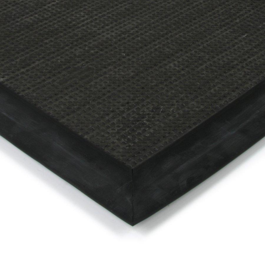 Modrá textilní vstupní vnitřní čistící zátěžová rohož Catrine, FLOMA - délka 150 cm, šířka 150 cm a výška 1,35 cm
