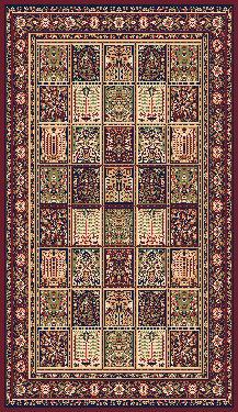 Béžový kusový orientální koberec Solid New