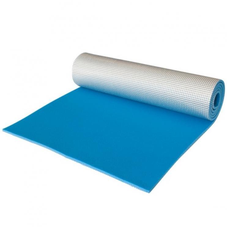 Modrá pěnová karimatka - délka 180 cm, šířka 50 cm a výška 1,1 cm