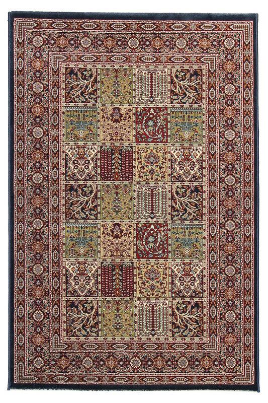 Modrý kusový orientální koberec Tashkent