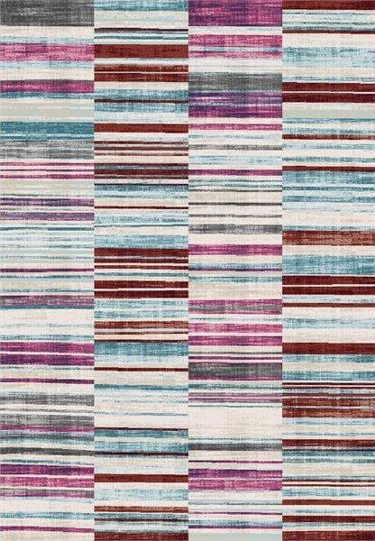 Růžový moderní kusový koberec Velvet - délka 140 cm a šířka 77 cm
