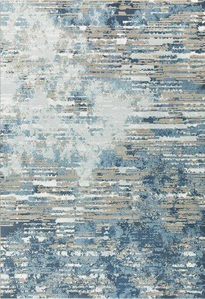 Modrý kusový koberec Piazzo - délka 200 cm a šířka 135 cm
