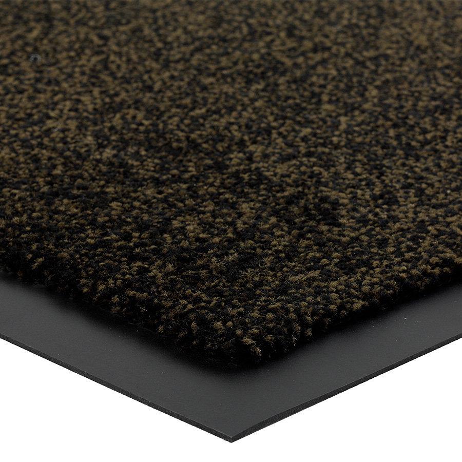 Hnědá metrážová čistící vnitřní vstupní rohož Briljant, FLOMA (Bfl-S1) - délka 1 cm a výška 0,9 cm