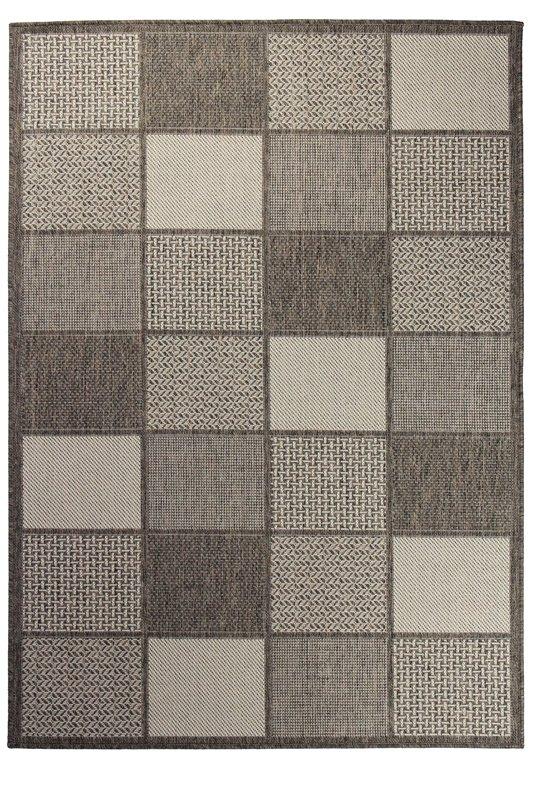 Hnědý kusový koberec Sisalo - délka 285 cm a šířka 200 cm