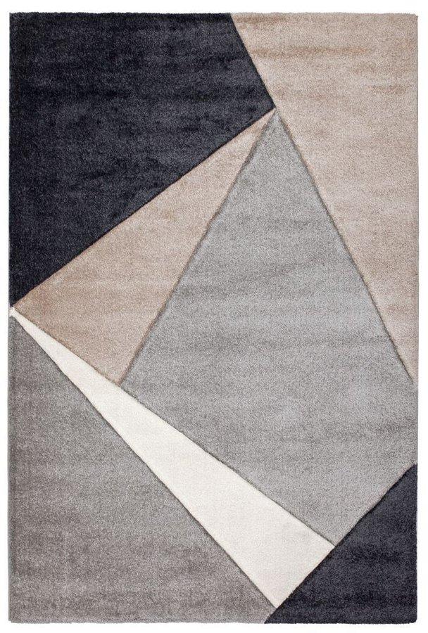 Béžový kusový moderní koberec Broadway - délka 170 cm a šířka 120 cm