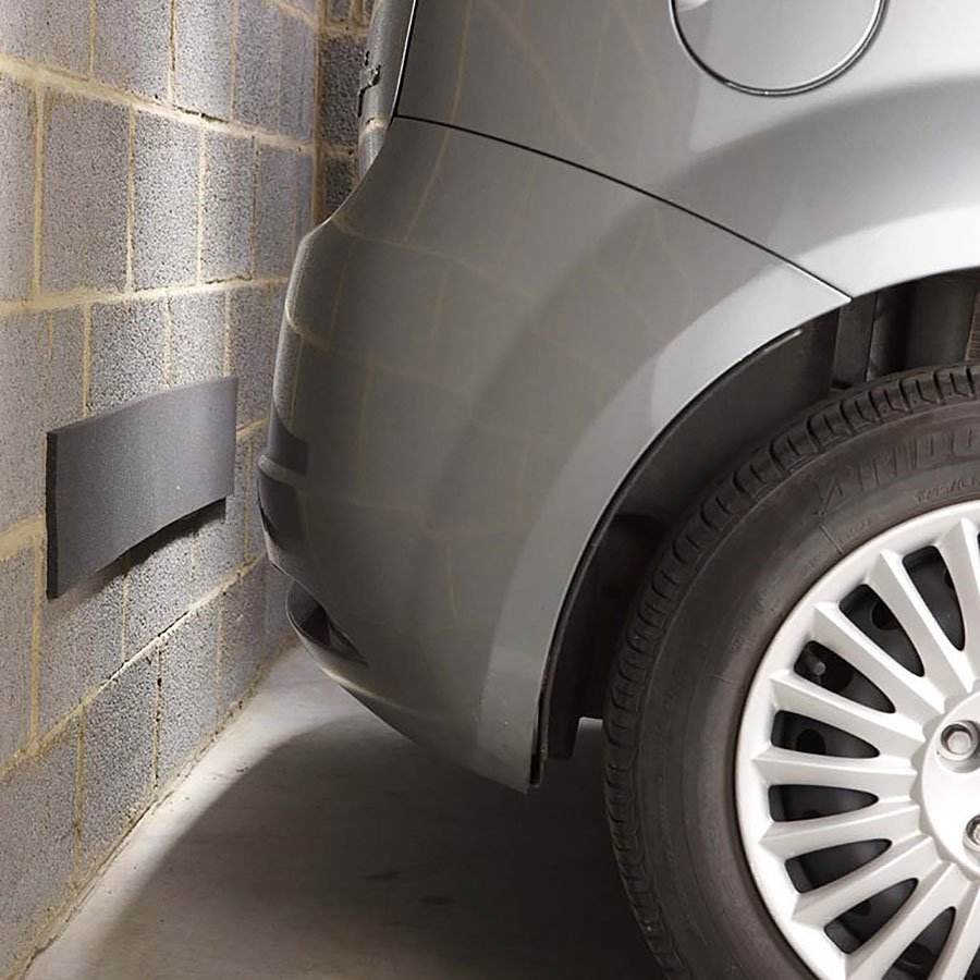 Šedý pěnový pás na ochranu stěn - délka 100 cm, výška 15 cm a tloušťka 1 cm