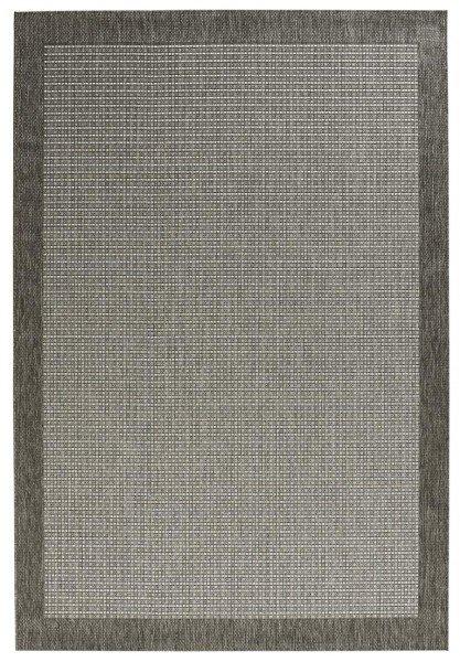 Šedý kusový koberec Natural