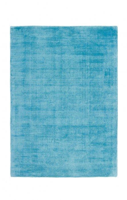 Tyrkysový kusový koberec Maori - délka 170 cm a šířka 120 cm