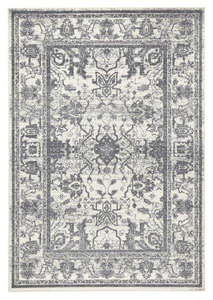 Šedý kusový koberec Capri - délka 200 cm a šířka 140 cm