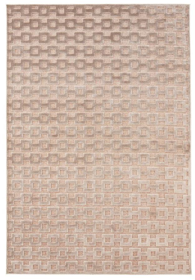 Béžový moderní kusový koberec Bouton, Mint Rugs - délka 300 cm a šířka 200 cm