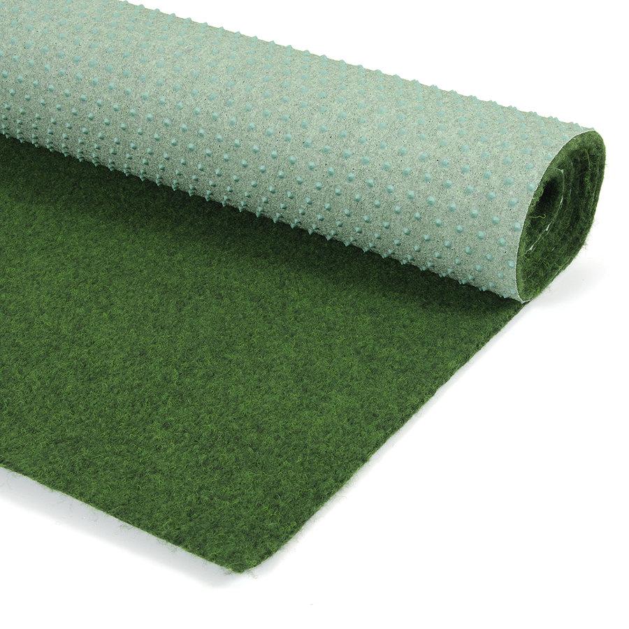 Zelený travní metrážový koberec (s nopy) Greeny - délka 1 cm, šířka 200 cm a výška 0,6 cm