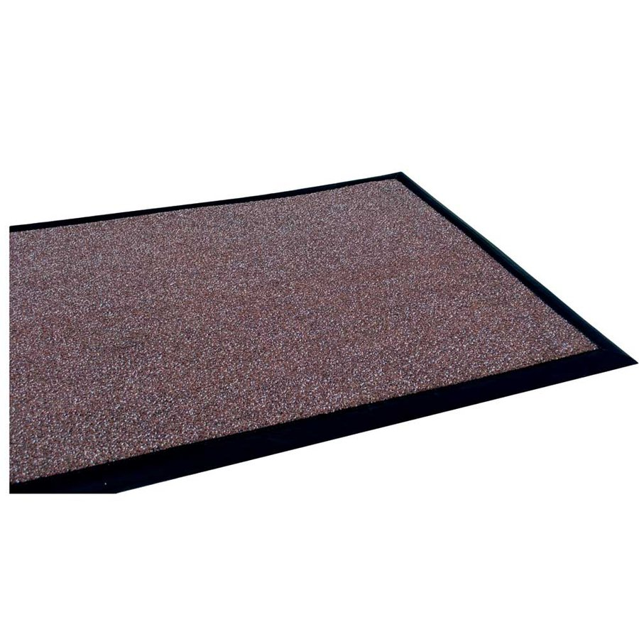 Hnědá textilní vstupní vnitřní čistící rohož - délka 300 cm, šířka 100 cm a výška 1,2 cm