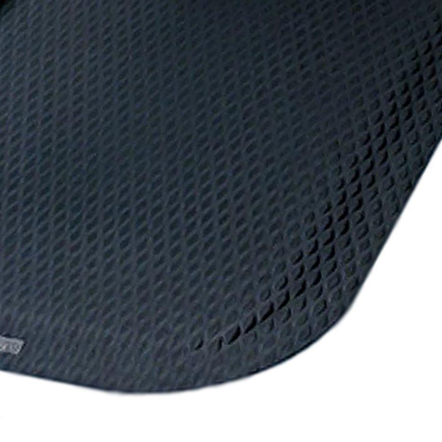 Černá protiúnavová protiskluzová rohož - délka 84 cm, šířka 147 cm a výška 2,2 cm