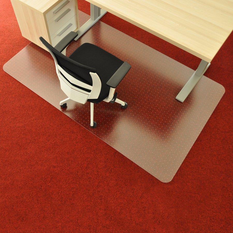 Průhledná ochranná podložka pod židli na koberec - délka 183 cm, šířka 120 cm a výška 0,2 cm