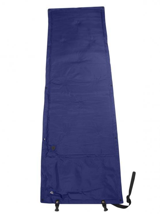 Modrá samonafukovací karimatka - délka 165 cm, šířka 55 cm a výška 1,5 cm
