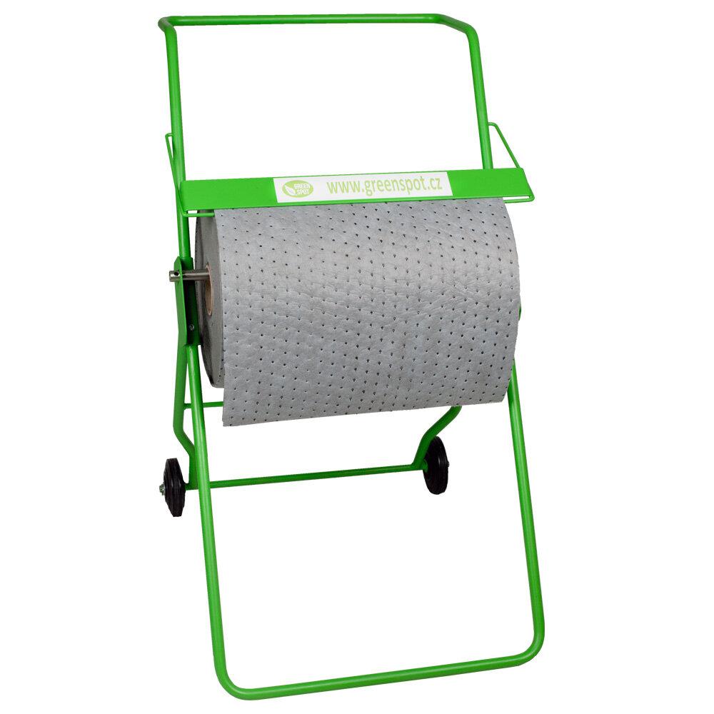Mobilní stojan na sorpční koberce - délka 72 cm, šířka 62 cm a výška 102 cm