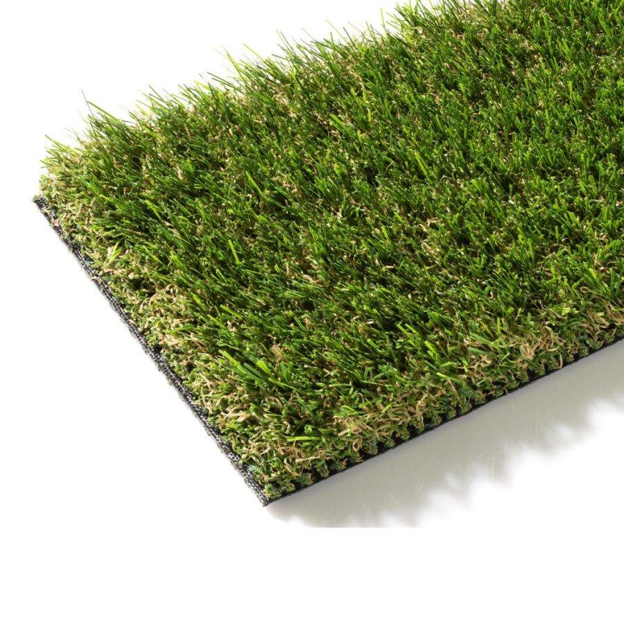 Zelený metrážový umělý trávník Arezzo, FLOMA - délka 1 cm a výška 4 cm